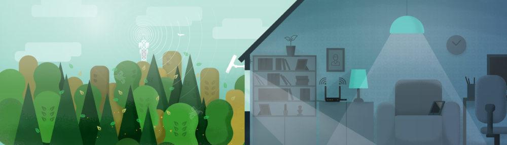 Беспроводной интернет в частный дом, дачу, деревню!