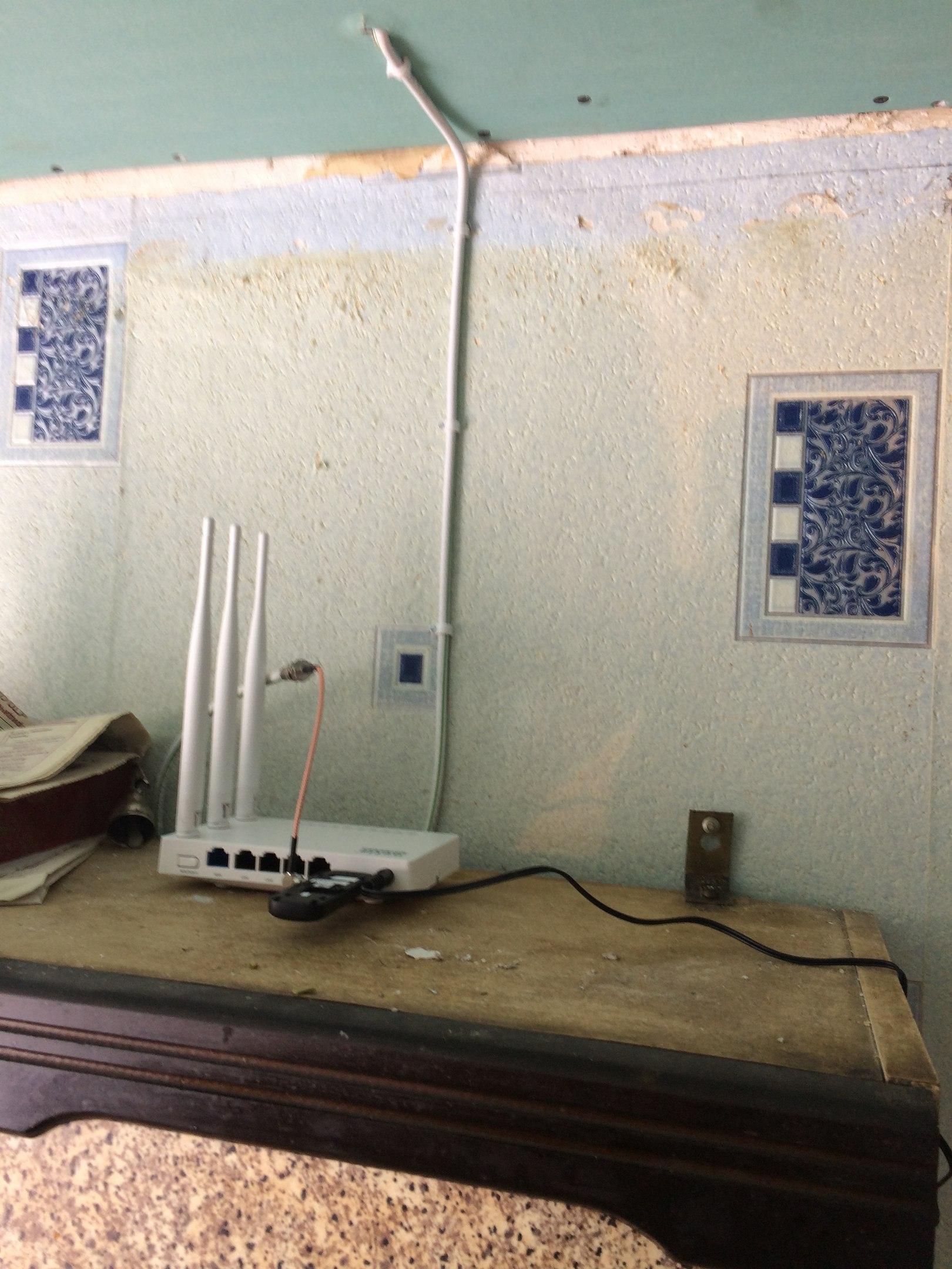 Интернет в частный дом, Арсеньевский район, поселок Буревестник.