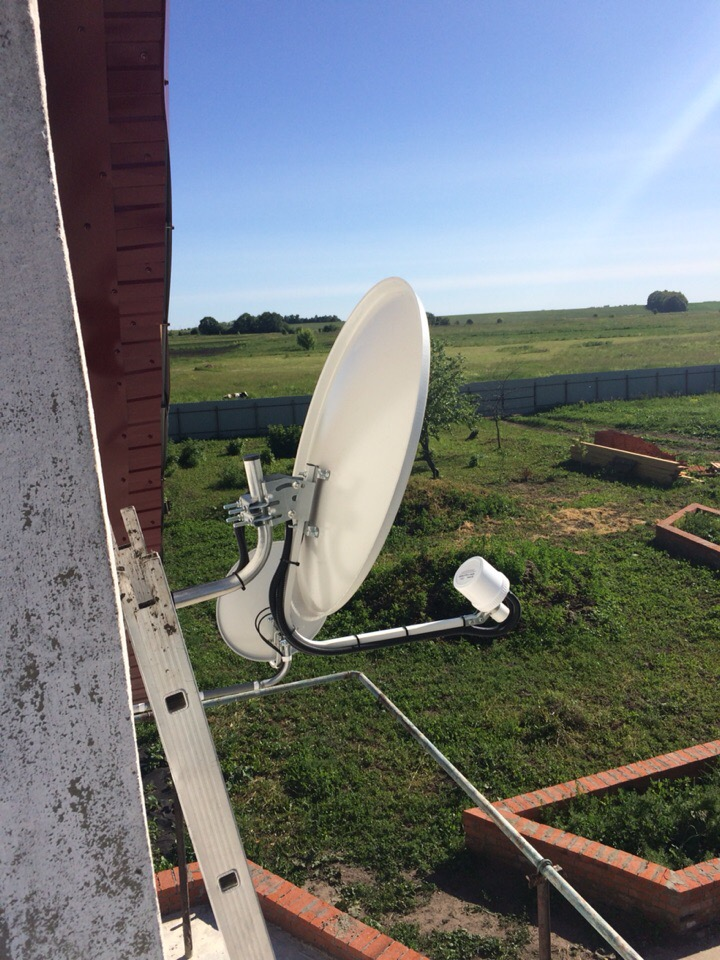 Интернет в частный дом в деревне Шишлово Новомосковского района