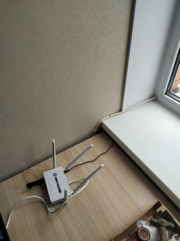 Как провести интернет в частный дом в Новомосковске