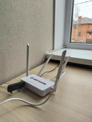 Безлимитный, высокоскоростной интернет для частного сектора в Новомосковске