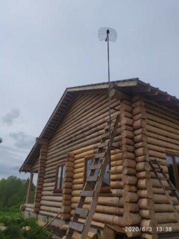 Беспроводной интернет подключили в деревне Кисельное, Тульская область!