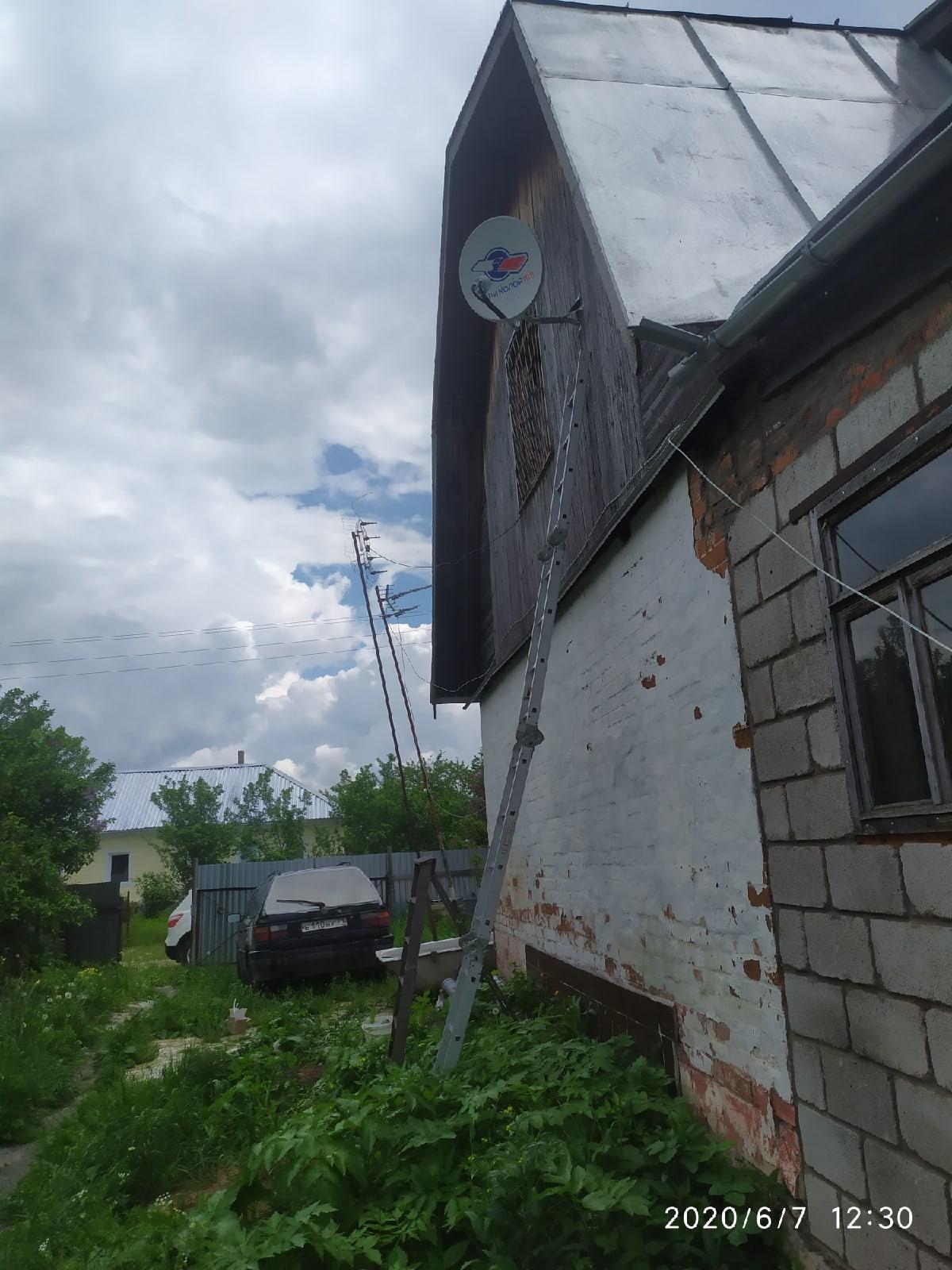 Как провести интернет в деревне Алексеевка Тульской области!